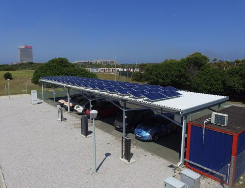 SA's groundbreaking solar charging system for electric vehicles