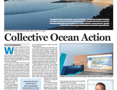 Ocean Sciences Supplement published in the Mail & Guardian on 31 May 2019